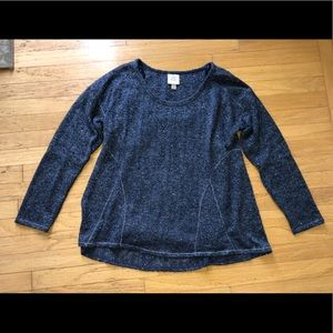 Women's Knox Rose Navy lightweight sweater size L